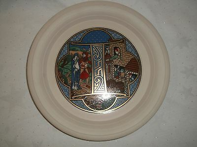 Hornsea Pottery Cabinet Christmas Plate (4Th In Set Of 9) 1982 Limited Edition