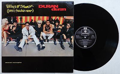 """DURAN DURAN 'Violence Of Summer' 1990 French PROMOTIONAL vinyl 12""""/45 rpm EP"""