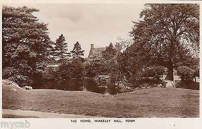 Postcard Wolverhampton Staffordshire the Pond Wakeley Hill at Penn RP by Magna