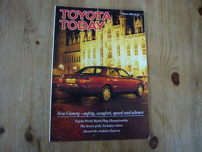 Toyota Today factory customer magazine, Winter 1991, excellent condition