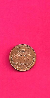 Jamaica Km146.1 2003  Unc-Uncirculated Mint 10 Cents Coin