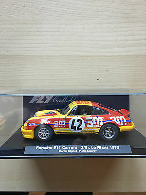 Fly Car Model Porsche 911 Carrera 24Hr Le Mans 1973 Reference A933/88156 Unused