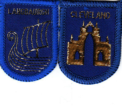 Boy Scout Badges CLEVELAND County+ Ext LANGBAURGH District