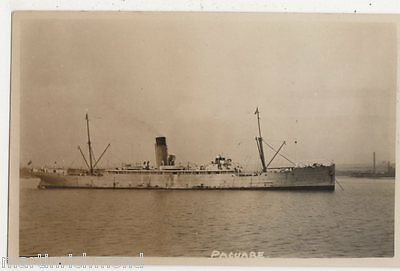 S.S. Pacuare, Shipping Real Photo Postcard, B549