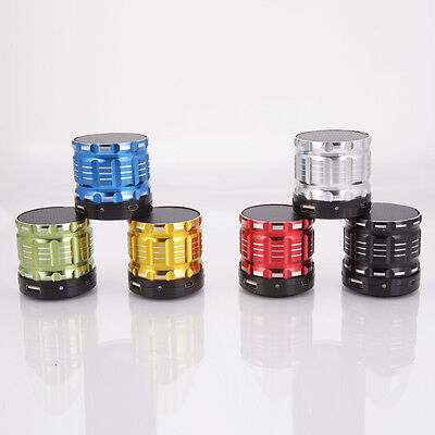 Mini Bluetooth Wireless Super Bass Stereo Speaker For Tablet Smartphone Portable