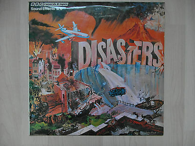 BBC Sound Effects LP - No.16, Disasters