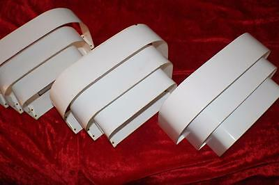 Progress Home Theater Metal Sconce Wall Sconce In White Set Of (3)