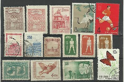 A Mounted Mint & Used Selection of China/Taiwan Stamps.