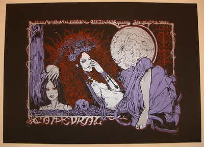 2009 Cathedral - Roadburn Concert Poster by Malleus