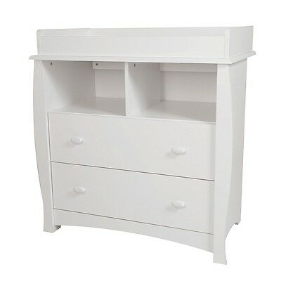 South Shore Beehive Changing Table with Removable Changing Station - Pure White