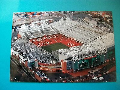 """MANCHESTER UNITED  OLD TRAFFORD  Aerial View 2015 (B)  6""""x4"""" Photo  REPRINT"""