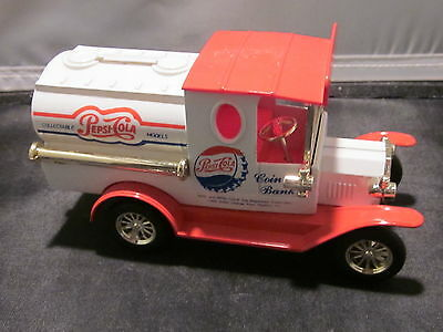 """Die Cast Metal And Plastic Coin Bank """"pepsi Cola """""""