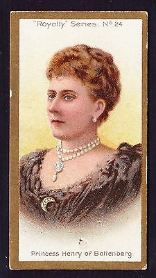 Taddy ROYALTY SERIES 1903 #24 Princess Henry Of Battenburg *Good/VG Condition*