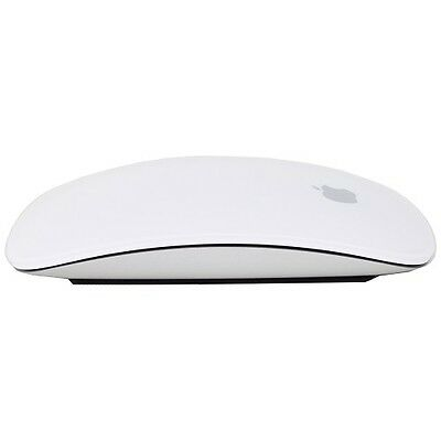 Original Apple Bluetooth Laser Multi-Touch Magic Mouse White MB829LL/A A1296