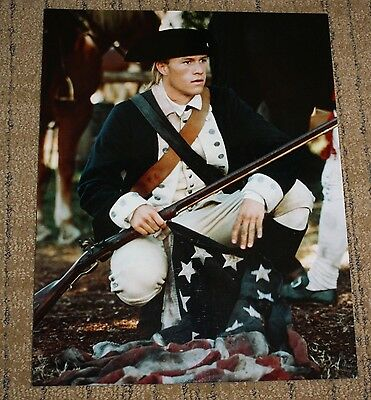 8X10 Reprint Movie Photo of Heath Ledger from The Patriot
