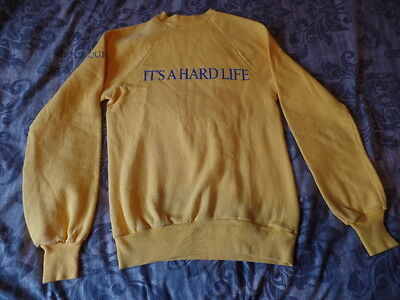 Queen Freddie Mercury Rock It's A Hard Life Mega Rare Official Promo Sweatshirt