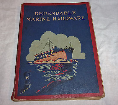 Vintage Early 1900 Marine Hardware Catalog Dependable Wilcox, Crittenden & Co.