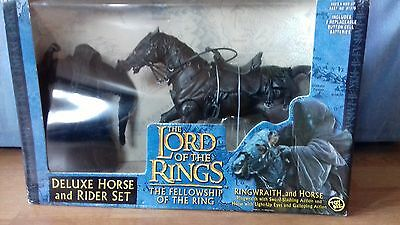 Lord Of The Rings Deluxe Ringwraith Horse Set New & Boxed