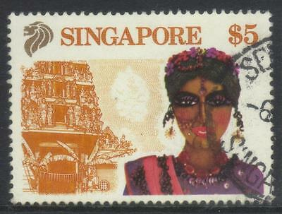 Singapore 1990 Tourism Sg635 Used Cat £7