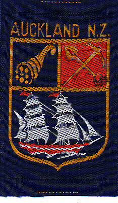 Boy Scout Badge Ext AUCKLAND N.Z. NEW ZEALAND