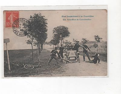 06 Frontiere-Nos Douaniers- 1 -Cpa -