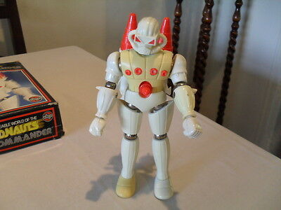 Vintage Micronauts Force Commander In Box By Airfix/mego
