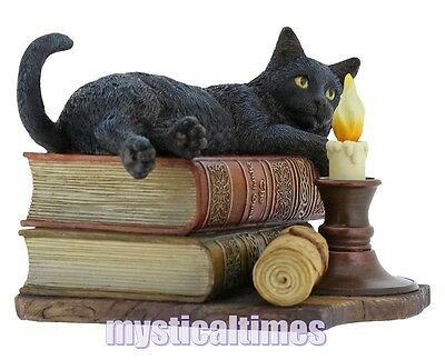 New * Witching Hour * Lisa Parker Black Cat Figurine Statue  With Free Post