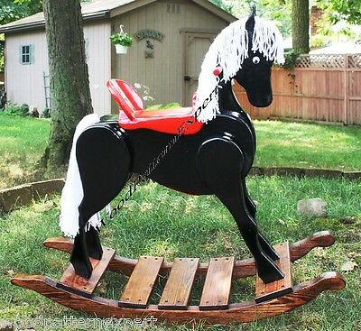 ROCKING HORSE Paper Plans EASY DIY PATTERNS Build Your Childs Rocker Like Expert