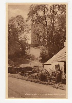 Cardoness Castle, Gatehouse of Fleet Postcard, B112
