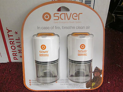 Saver Emergency Breath System (2 Pack) Exp: 07/2021 New