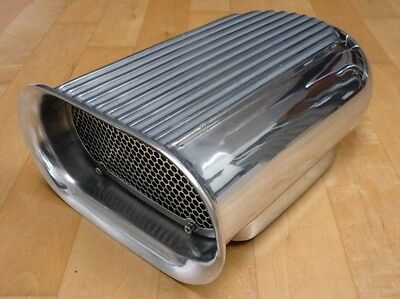 Scoop Hilborn Hutze Alu Chevy Ford Racing Dragster Für Edelbrock Holley Mustang