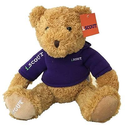 i.SCOUT TEDDY Bear with certificate