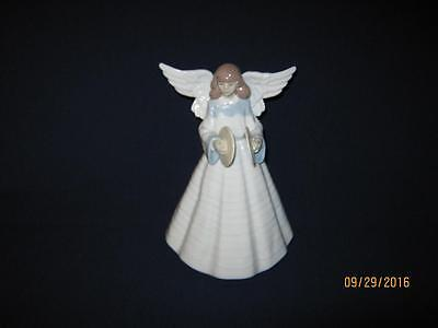 Lladro Angelic Cymbalist Angel With Cymbals #5876 [Clearance]
