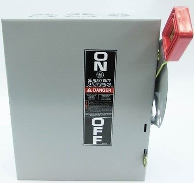 New GE THN3361 30A 600V Heavy Duty Non-Fused Safety Switch Disconnect 30 Amp NIB