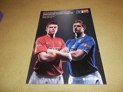 Manchester United v Everton - FA Cup Semi-Final in 2009 at Wembley