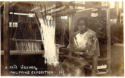 Fantastic Real photo Philippines picture postcard.1900's Exposition