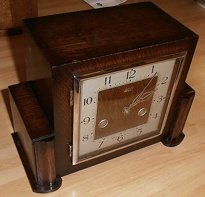 1930's Oak Cased Smiths Enfield Clock for repair
