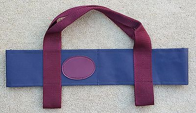 ACCLAIM Chatton Bowls Carrier Two Bowls Bowling Sling Navy Burg Sample