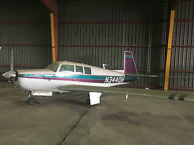 1968 Mooney M20F SUPER EASY PROJECT! - Lycoming IO-360-A1A