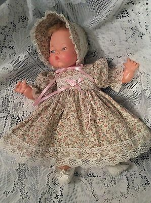 """Doll Clothes For 14"""" Tiny Thumbelina """"Lovely Floral Dress Set"""" by Maureen"""