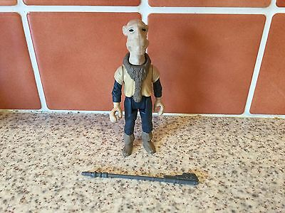 Vintage Star Wars Last 17 Yak Face Figure Lfl 1985 With Weapon