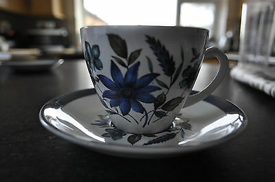Vintage Alfred Meakin Country Side Design Cup And Saucer + 1 Free Saucer