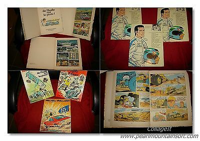 3 Anciennes Bd 1970 1971 Michel Vaillant Editions Du Lombard Km 357, Huile,rodeo