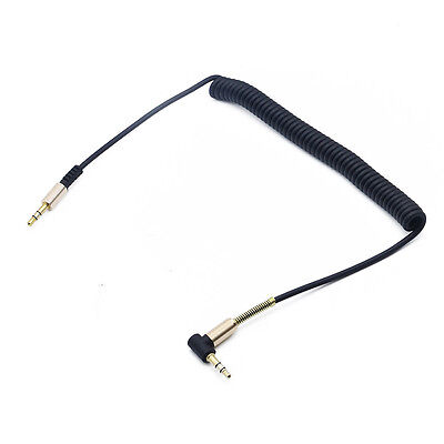 3.5mm Audio Cable Jack To Jack 90 Degree Right Angle Aux Cable For Android  NEW