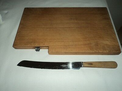 Vintage Jewell & Co. bread board chopping board with patent printed no. 591305