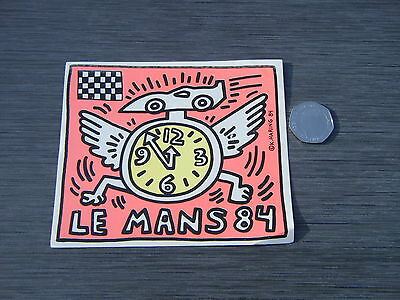 Rare 1984 Le Mans 24 Hour Sticker  - Free Post Uk Buyer