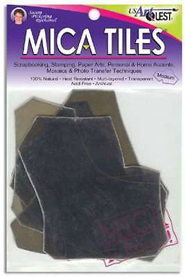 Mica Tile Medium Pieces 1 Ounce-Approximately 5 Inch X 6 Inch 630284123944