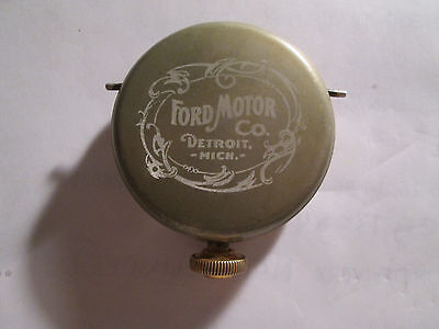 1928 Elgin Automobile Watch Engraved Ford Theme Case Runs Well.
