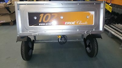 Erde Trailer 102 Without Lighting Board - Collection Only