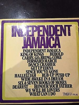 REGGAE various artists 'independant jamaica' uk trojan orig